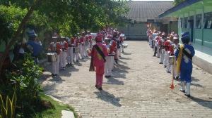 Latihan 2 Marching Band SDN Kedungsumber